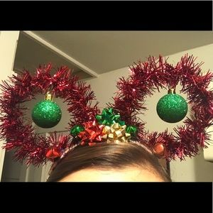 Christmas Mickey Ears Custom Made